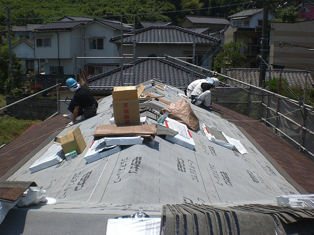 青山建装 屋根工事3