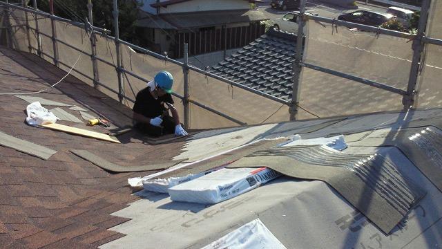 青山建装 屋根工事2